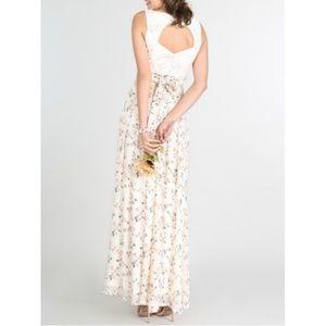 Nikibiki Dresses - Chiffon Floral Maxi Dress